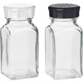 St/2 Wink Shakers White & Black