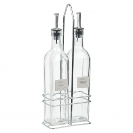 OIL AND VINEGAR CADDY SET