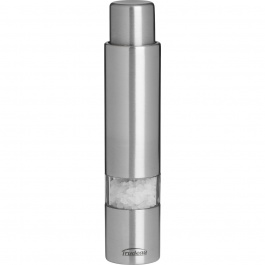 "6"" ONE-HAND STAINLESS STEEL THUMB SALT MILL"