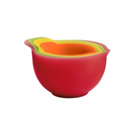 Bamboo / Melamine Measuring Cups - Set of 4