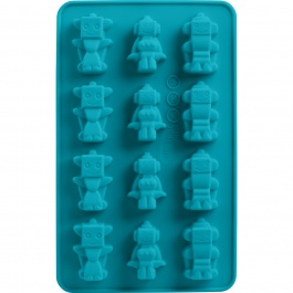 SET OF 2 ROBOT CHOCOLATE MOLDS