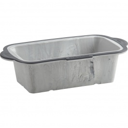 "Structure Silicone™ PRO Loaf Pan with Marble effect 8.5"" x 4.5 """