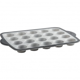 Structure Silicone™ PRO 20-count Mini Muffin Pan with Marble effect