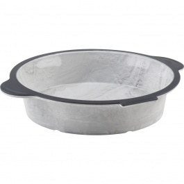 """Structure Silicone™ PRO Round Cake Pan with Marble effect 9"""""""