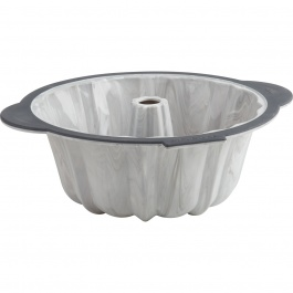 Structure Silicone™ PRO Fluted Pan with Marble effect - 10 cups