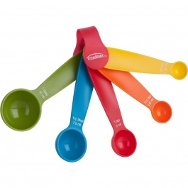 SET OF 5 MEASURING SPOONS