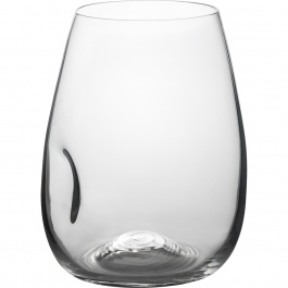 SET OF 4 GEM STEMLESS WINE GLASSES - 16 OZ