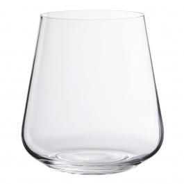 SET OF 4 GALA STEMLESS RED WINE GLASSES 14 OZ