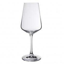 SET OF 4 GALA WHITE WINE GLASSES 12-1/3 OZ