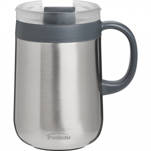 Trudeau DESKTOP STAINLESS STEEL VACUUM DESK MUG 16OZ