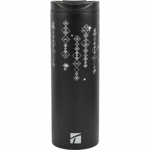 Trudeau Sleek Ss Vac Tumbler Black 15oz