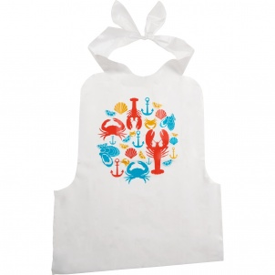 Trudeau SET OF 4 DISPOSABLE SEAFOOD BIBS