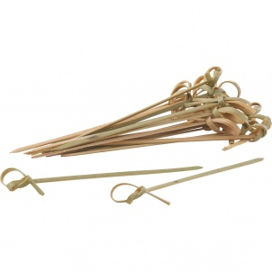 """Trudeau SET 50 KNOTTED SKEWERS 4"""""""
