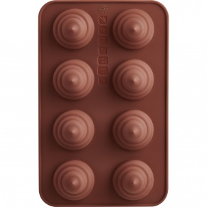 Trudeau SET OF 2 CHOCOLATE MOLDS- SWIRL
