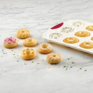 Trudeau 12ct Decorated Donut Confetti Fuchsia