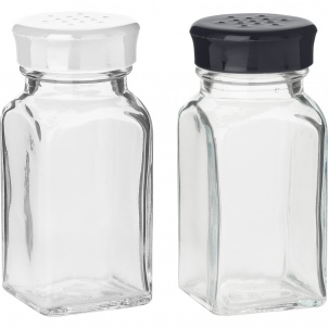 Trudeau St/2 Wink Shakers White & Black