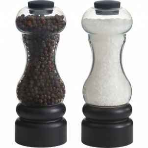 "Trudeau 6"" New York Pepper Mill/salt Mill 4/cdu"