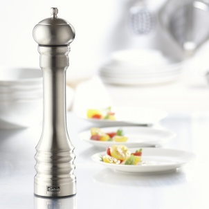 """Trudeau 12"""" PROFESSIONAL PEPPER MILL STAINLESS STEEL"""