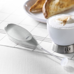 Trudeau STAINLESS BATTERY MILK FROTHER