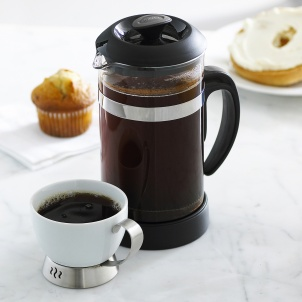 Trudeau BLACK COFFEE PRESS 34 OZ