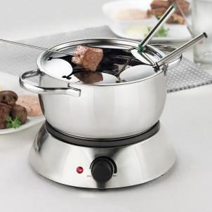 Trudeau 3 in 1 Alto Electric Fondue Set