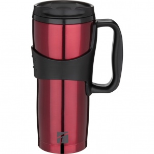 Trudeau Chazz Red Travel Mug