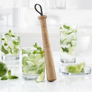 Trudeau WOOD COCKTAIL MUDDLER
