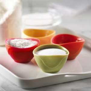 Trudeau Set of 4 Silicone Pinch Bowls