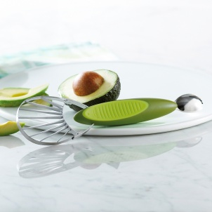 Trudeau 2 N 1 Avocado Slicer