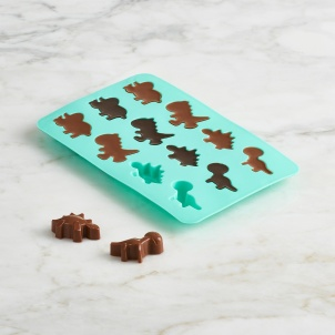 Trudeau SET OF 2 DINOSAUR CHOCOLATE MOLDS
