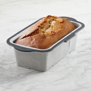 "Trudeau Structure Silicone™ PRO Loaf Pan with Marble effect 8.5"" x 4.5 """