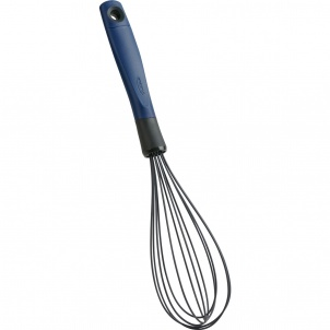 Trudeau Silicone Whisk Blueberry/charcoal