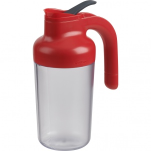 Trudeau Syrup Dispenser Paprika 19oz 6/cdu
