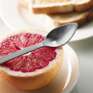 Trudeau STAINLESS STEEL GRAPEFRUIT SPOON