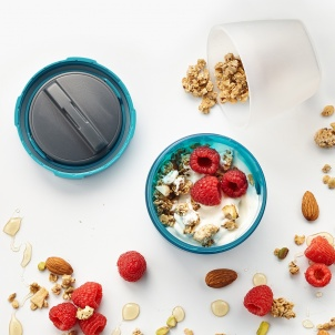 Trudeau Fuel Yogurt and Granola Container - 6 oz + 12 oz