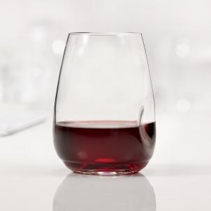 Trudeau SET OF 4 GEM STEMLESS WINE GLASSES - 16 OZ
