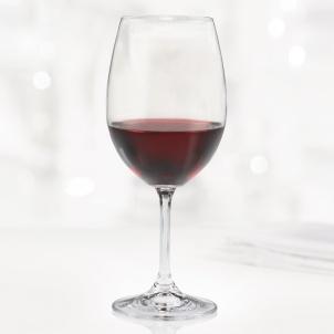 Trudeau SET OF 6 SERENE RED WINE GLASSES - 16 OZ