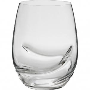 Trudeau SET OF 2 OXYGEN STEMLESS WINE GLASSES - 17 OZ