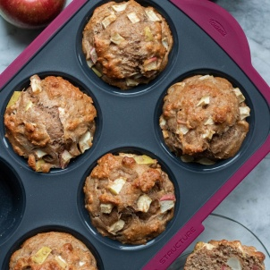 STRUCTURE SILICONE™ PRO 6 COUNT MUFFIN PAN