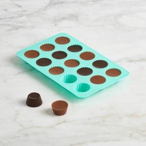 SET OF 2 CHOCOLATE MOLDS- CUPCAKE