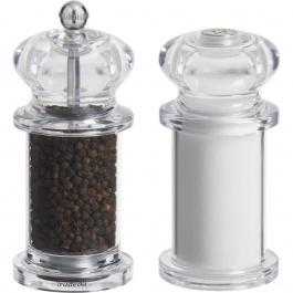 "5.5"" Tradition Peppermill & Salt Shaker"