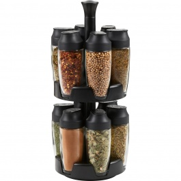 12 Jar Flick Spice Carousel Empty