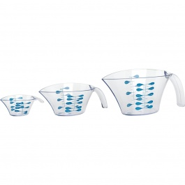 SET OF 3 MEASURING CUPS