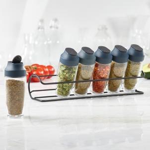 Trudeau 6 Bottle Horizontal Spice Rack