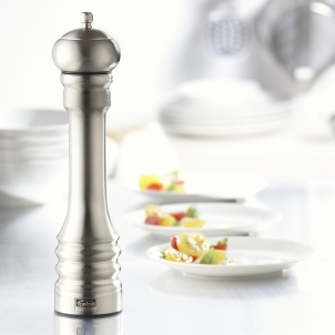 "Trudeau 12"" PROFESSIONAL PEPPER MILL STAINLESS STEEL"