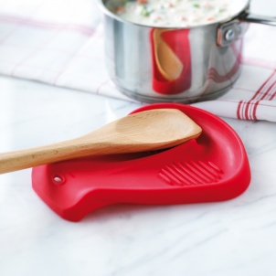 Trudeau Silicone Dual Spoon Rest