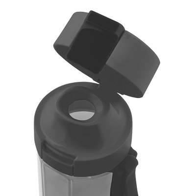 <BR>Flip cap and comfortable drinking spout