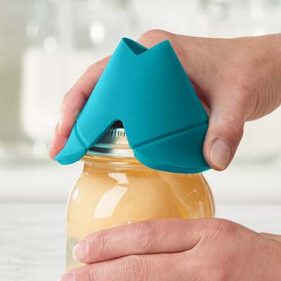 <BR>Provides added grip for opening jars<BR>
