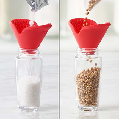 <BR>Perfectly shaped for use as a funnel<BR>