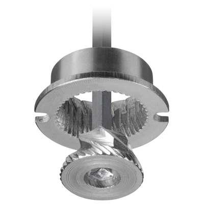 <BR>Carbon steel grinder - offers the sharpest and most durable grinder on the market